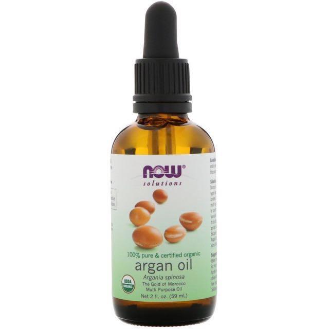 Now Foods, Organic Argan Oil, 2 fl oz (59 ml)