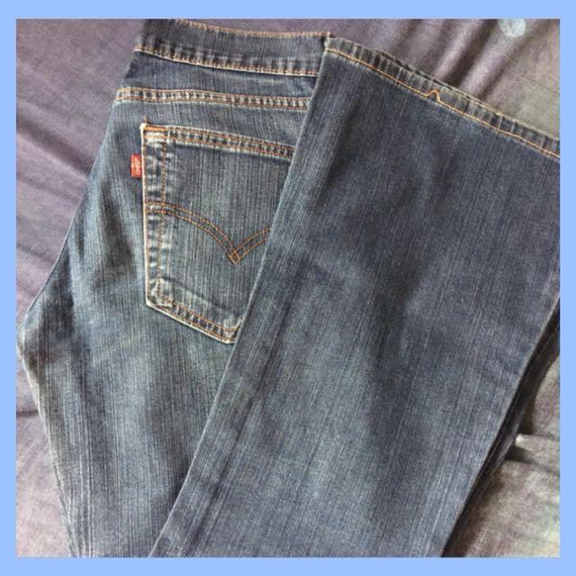 Original Levi's Jeans Bootcut