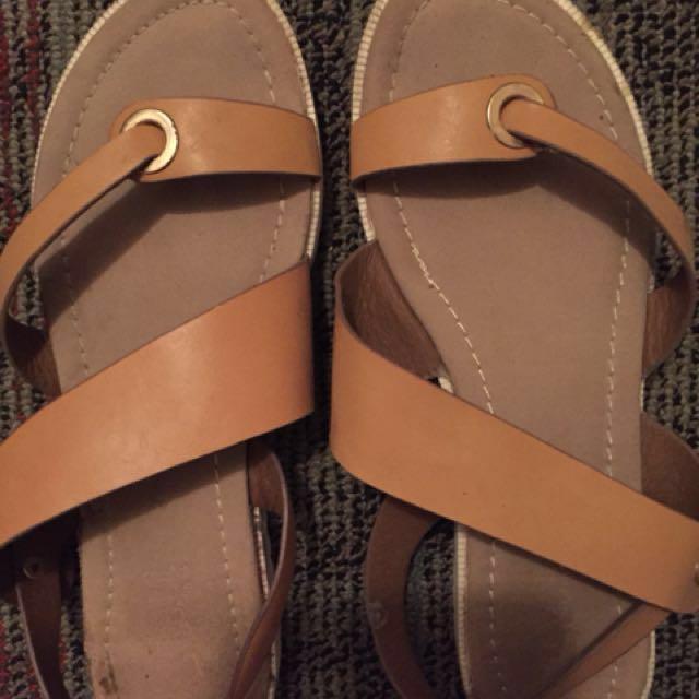 c4910c591 ORIGINAL S H Sandals with flaws
