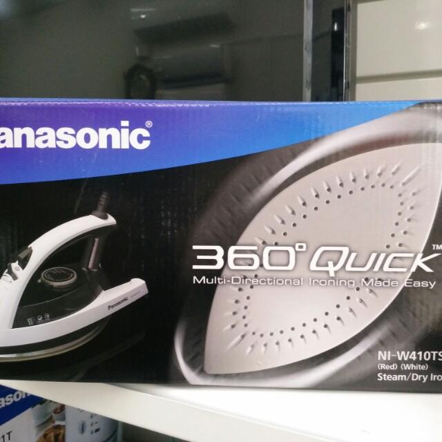 Panasonic 國際牌蒸氣熨斗NI-W410TS