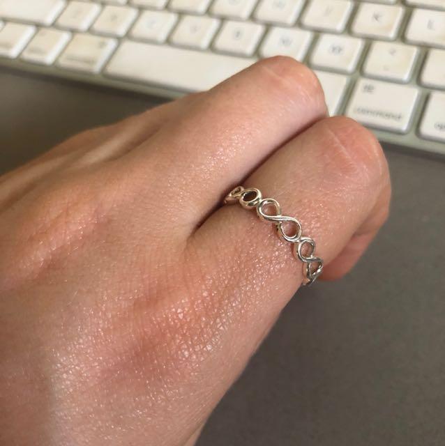 Pandora Infinity Ring - Size 56