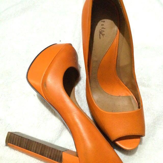 Pedro Leather Heels