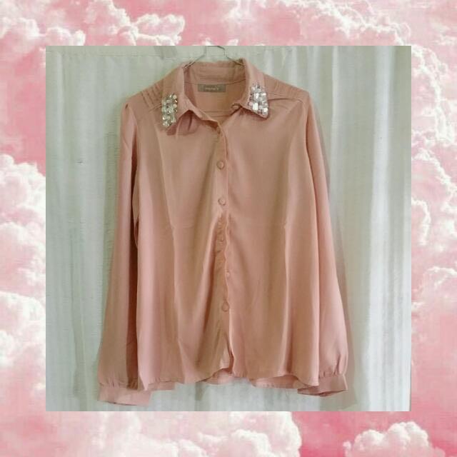 Pink Gem Blouse