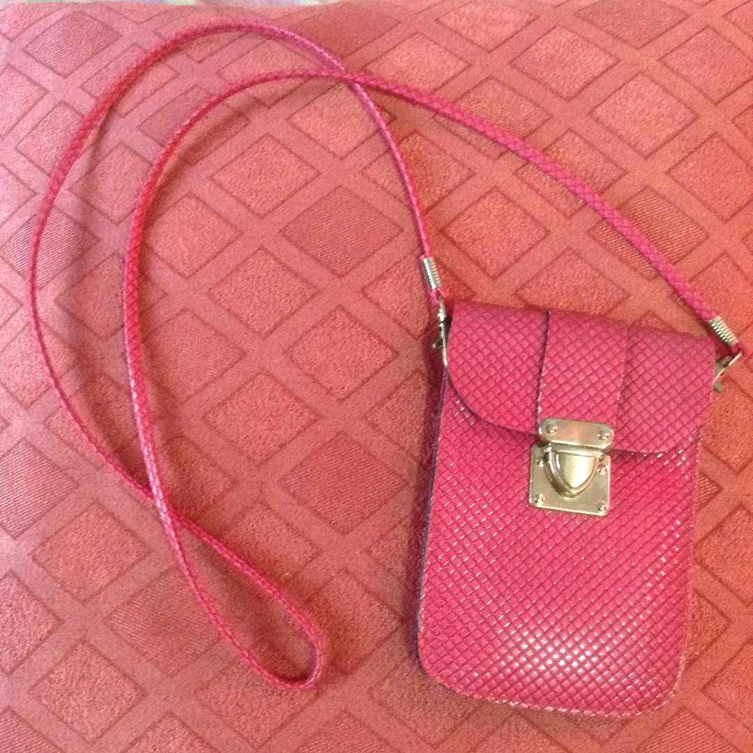 Pink Pouch/Bag