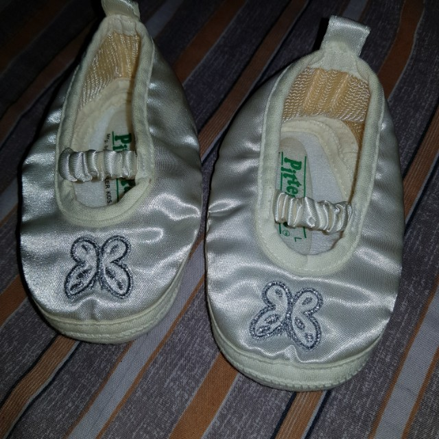 Pitter Pat Christening Shoes (Large)