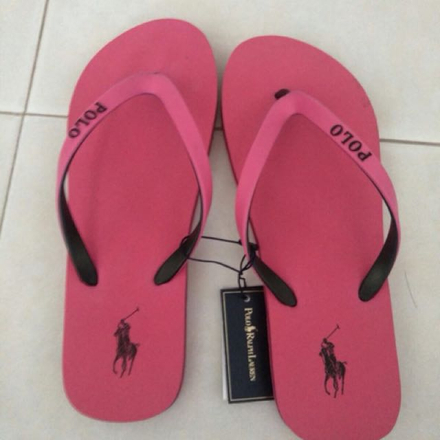 the best attitude e7cd5 5fc80 Polo Ralph Flip flop, Women s Fashion, Shoes on Carousell