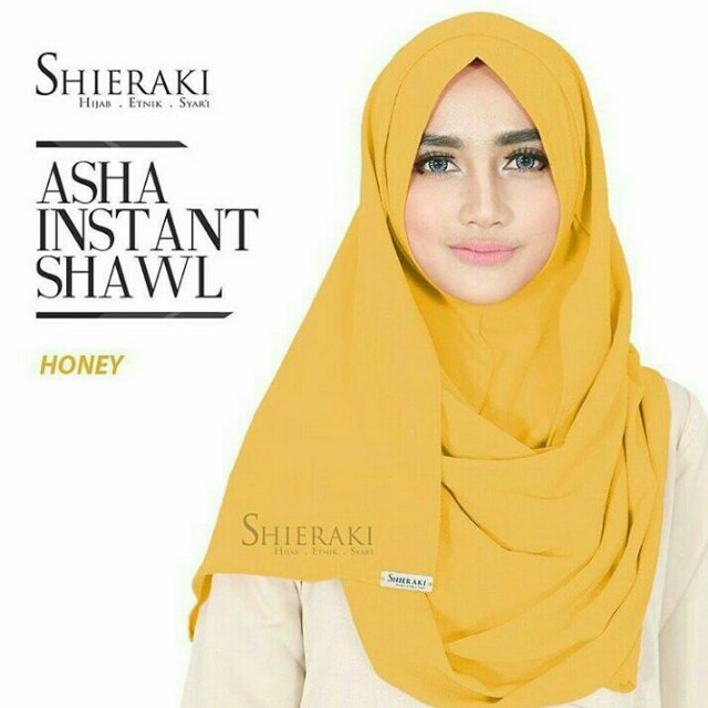 PRELOVED PASHMINA ASHA INSTA SHAWL BRAND SHIERAKI