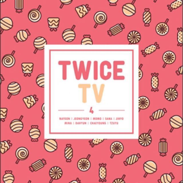 Pre-ORDER [DVD] TWICE TV4