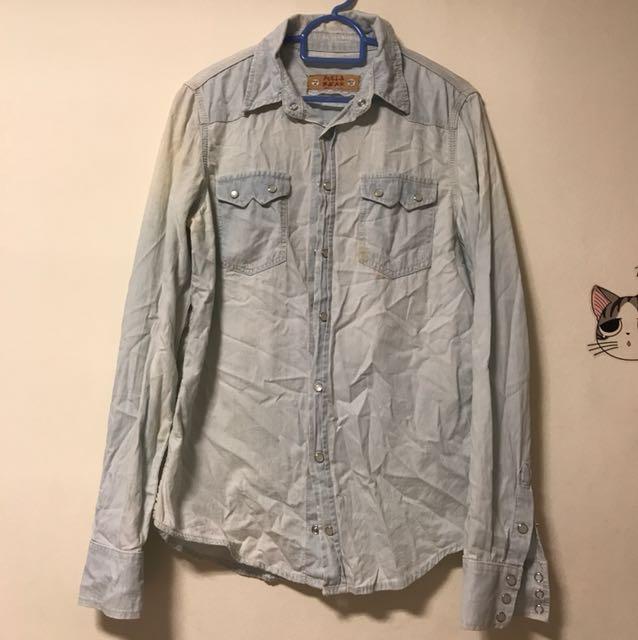 Pull & Bear Denim Shirt