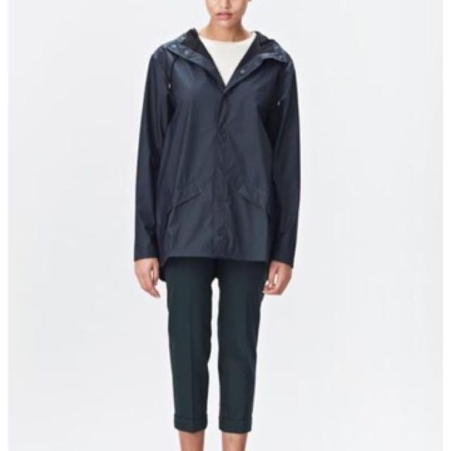Rains Navy Blue Rain Wear