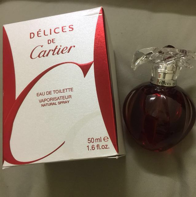 RARE Authentic Cartier Delices De Cartier EDT 50ml