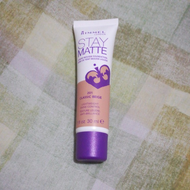 Rimmel Stay Matte Liquid Mousse Foundation, Health & Beauty, Makeup on Carousell