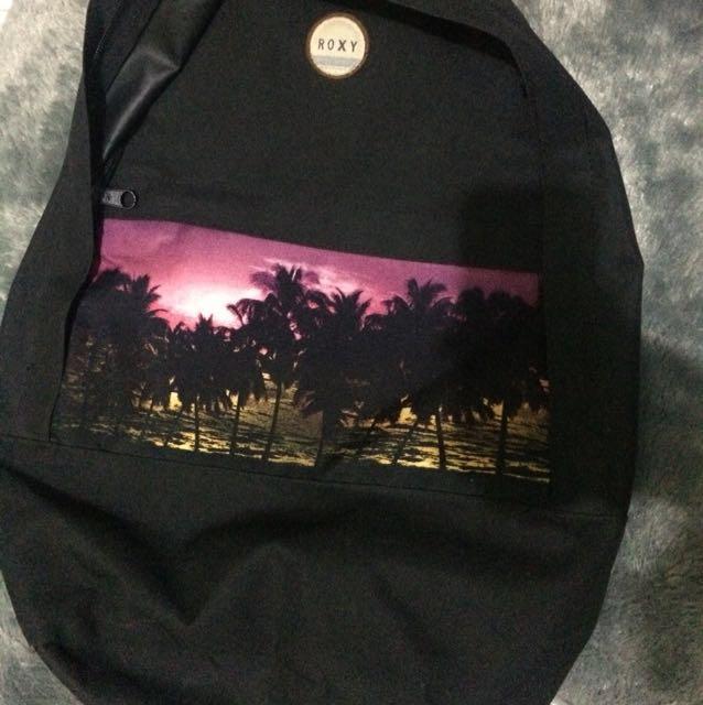 Roxy Black Backpack