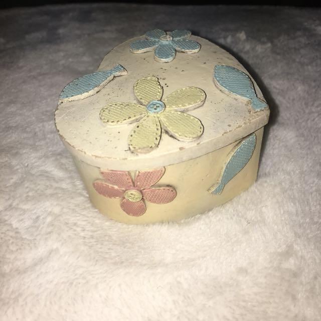 SALE!! Chic Jewelry Box / Decor