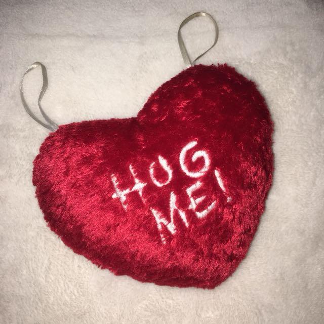 SALE! Heart-Shaped Hug Me Pillow Hang-in Decor