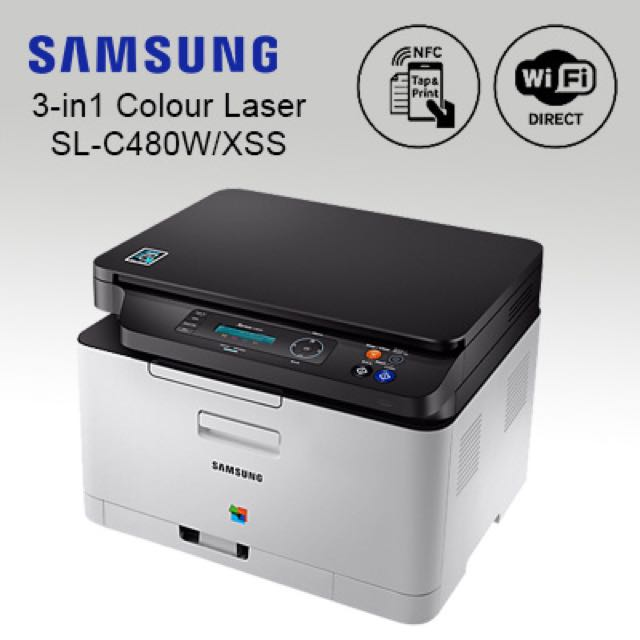 4c3b0f9017b Samsung SL480W/XSS 3in1 Color Laser Printer, Electronics, Others on ...