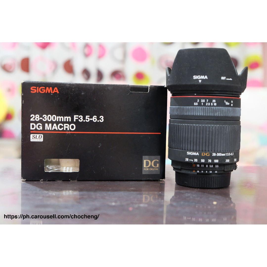 Selling My Sigma 28 300mm F35 53 Nikon Mount Photography On 1 J5 Double Kit 10 30mm 30 110mm Black Carousell