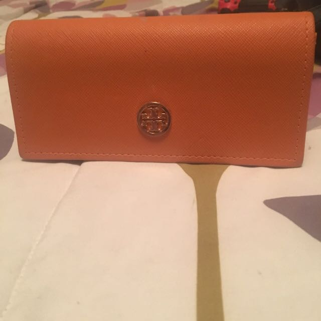 Selling this Tory Burch sunglass case