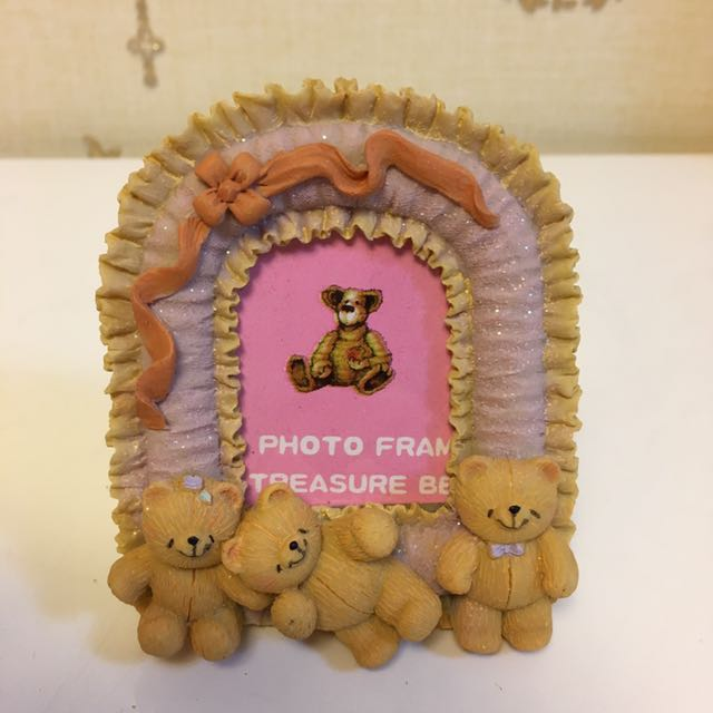 Small teddybear photo frame