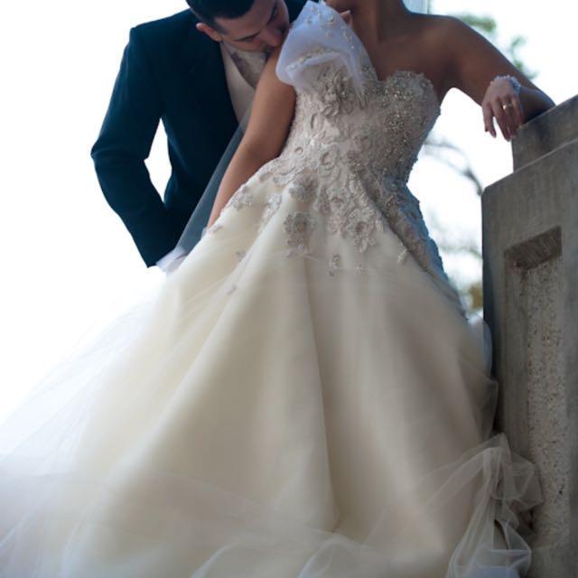 STEVEN KHALIL WEDDING DRESS