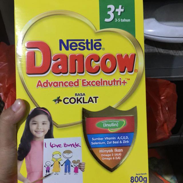 Susu bubuk dencow coklat