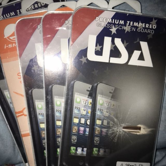 Tampered Glass Iphone 5 /5s/ 5c/ 4 USA