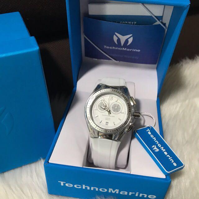 Technomarine Women's Cruise Sport Chronograph Watch TM115336