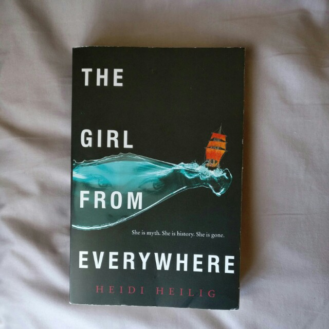 The girl from everywhere by Heidi Hellig