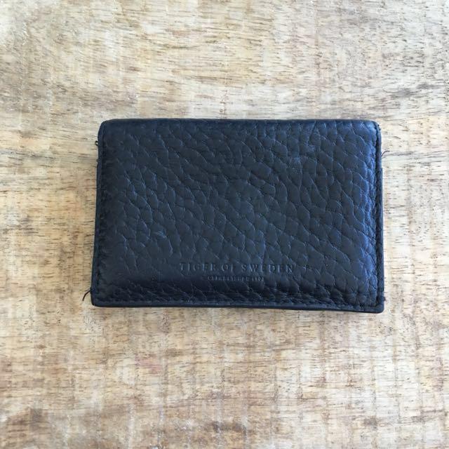Tiger of Sweden leather wallet