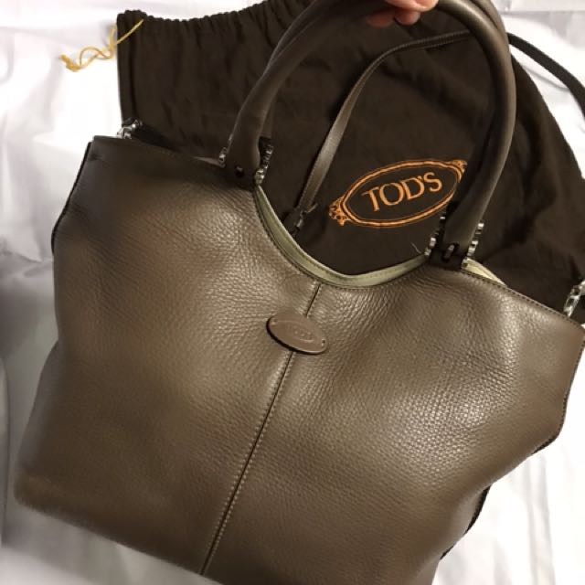 Tods leather
