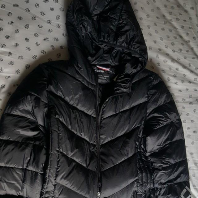 c222b07f Tommy Hilfiger Down Winter Jacket, Women's Fashion, Clothes ...