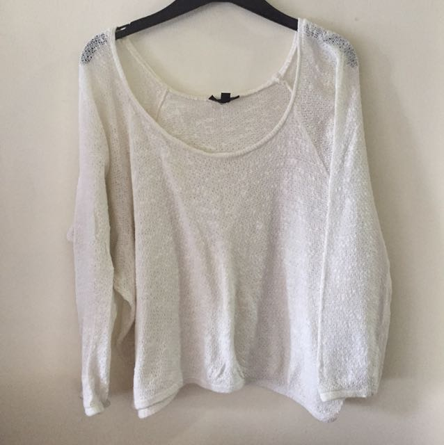 Topshop slouchy sweater UK 8