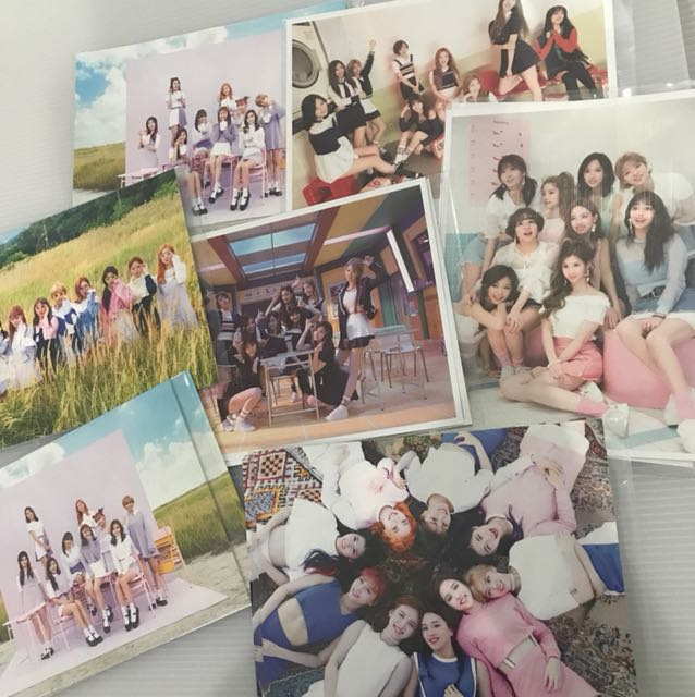 TWICE Official Postcard