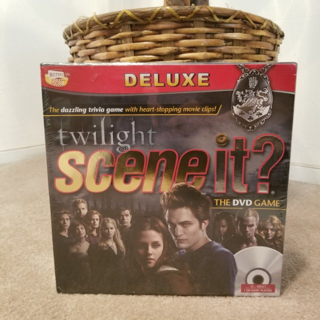 Twilight Scene It Deluxe Edition