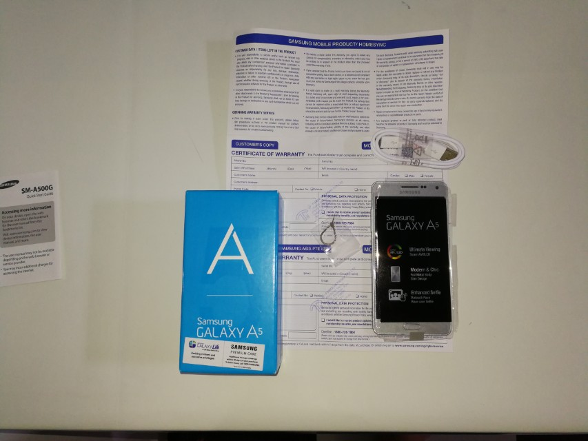 Used Samsung A5 in good condition