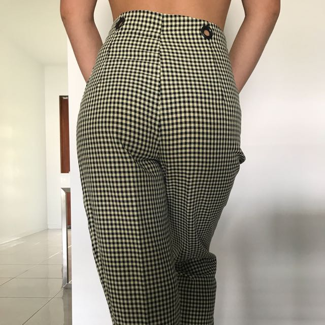 VINTAGE CHECKERED PANT