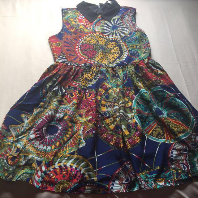 vintage dress size M