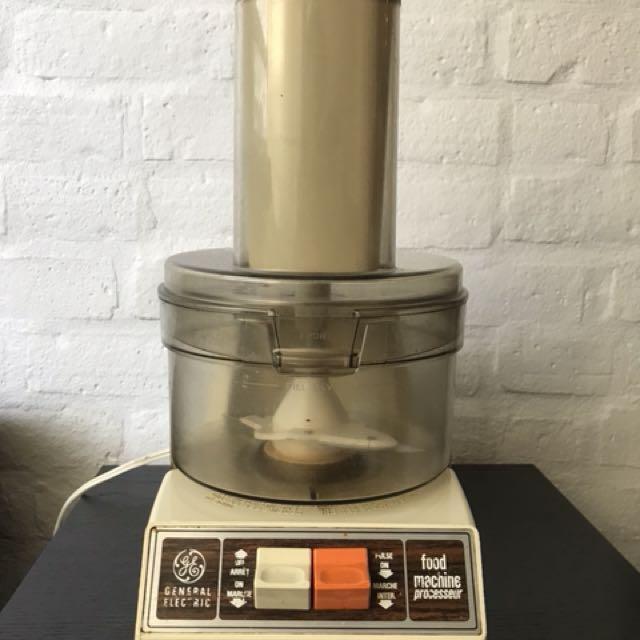 Vintage Food Processor