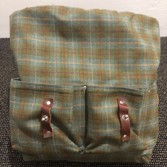 Vintage style Backpack with laptop compartment