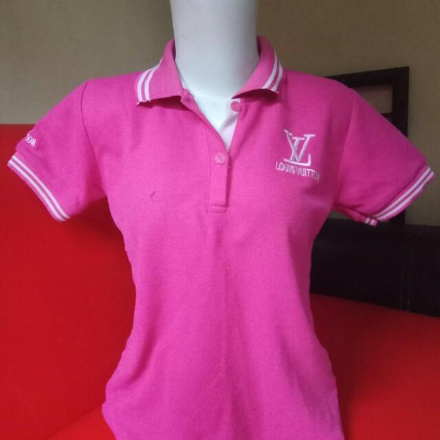 Wangki//polo pink