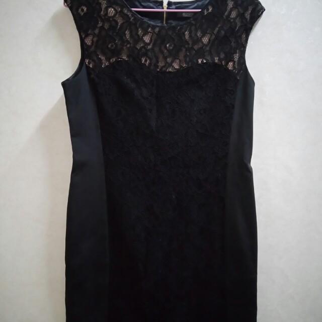【全新】Wanko無袖黑色洋裝