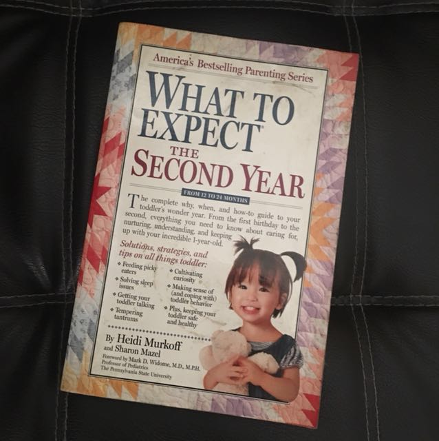 What to Expect the Second year by Heidi Murkoff & Sharon Mazel