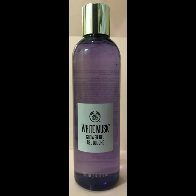 White Musk Shower Gel Body Shop