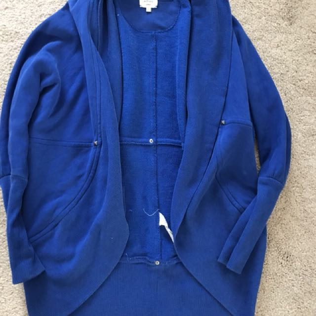 Wilfred Cobalt Blue Sweater- Size XS