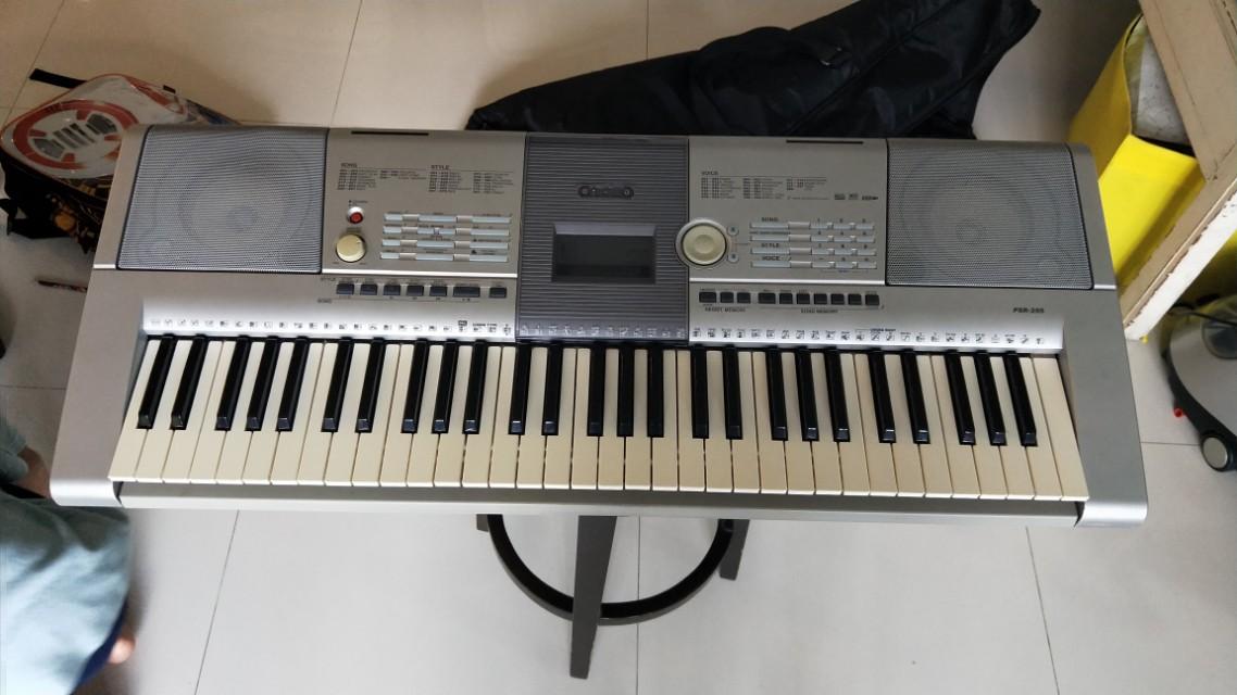 Yamaha keyboard psr 295 firesale music media music for Yamaha clp 295