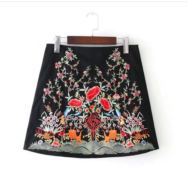 Zara look alike premium skirt