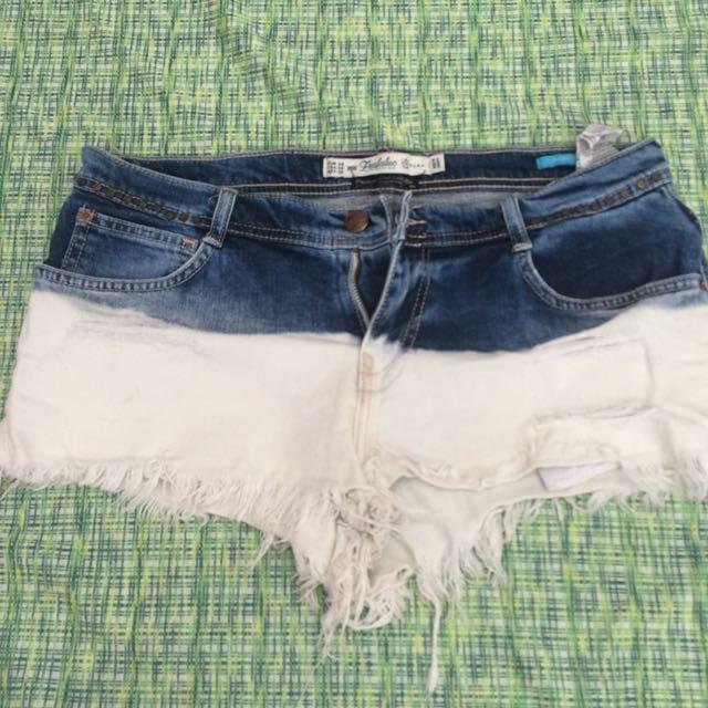 Zara Ombre Shorts