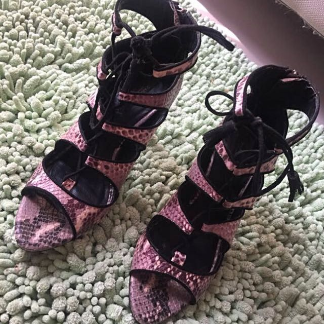 Zara shoes Gray sz 37