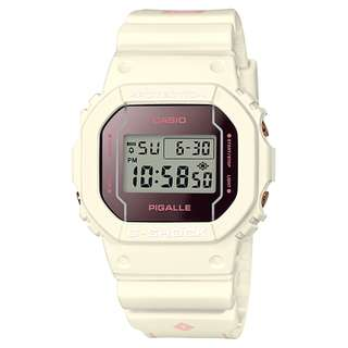 CASIO G-SHOCK X PIGALLE ANNIVERSARY LIMITED MODELS DW-5600 series DW-5600PGW 白色 GSHOCK DW5600PGW