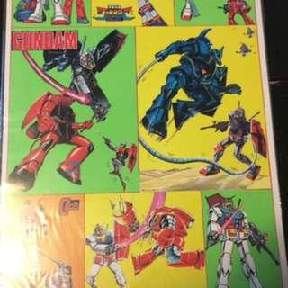 八十年代高達系列Poster (A3 size)